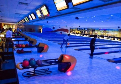 orchid bowl - kids bowling
