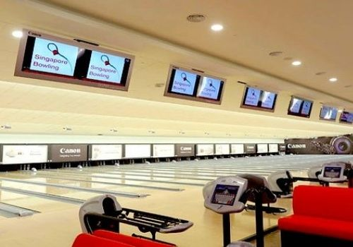 singapore bowling - kids bowling