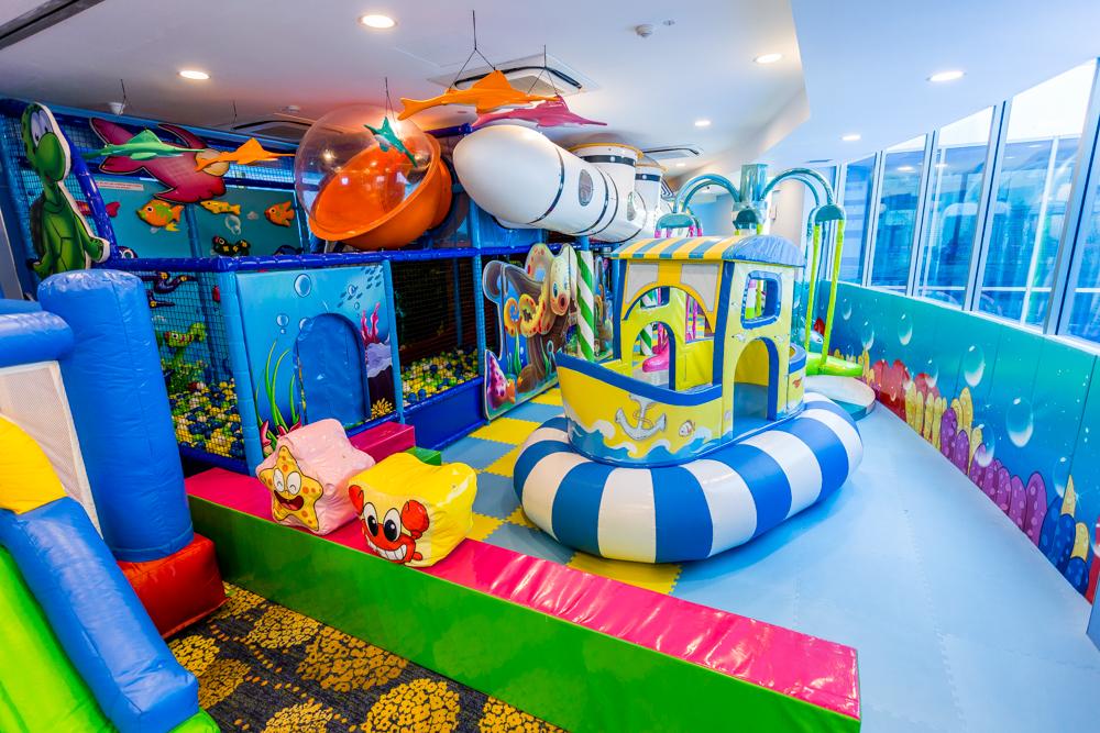 Baby Birthday Party Venues - aquarius cove