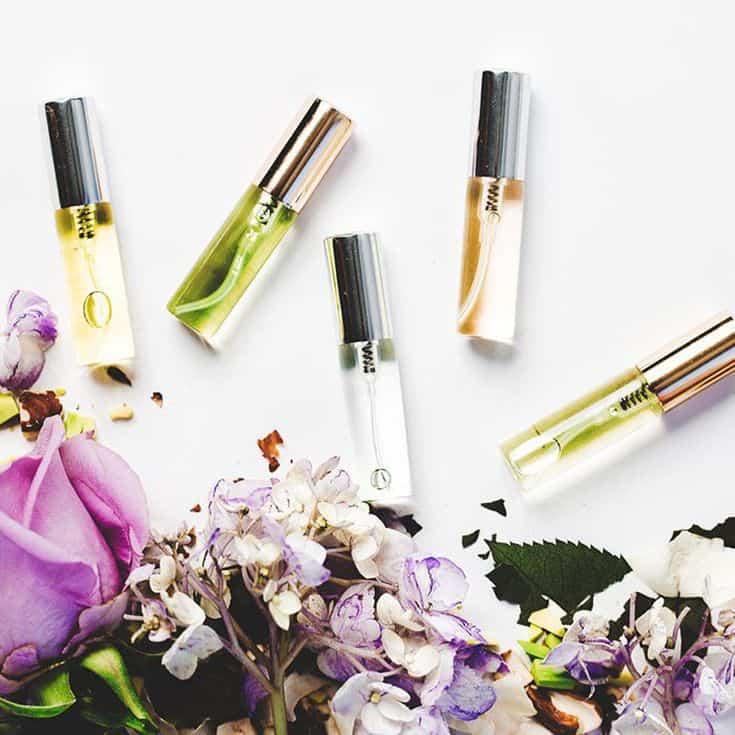 birthday gift - diy perfume