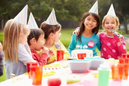 kid's birthday party - extensive guest list