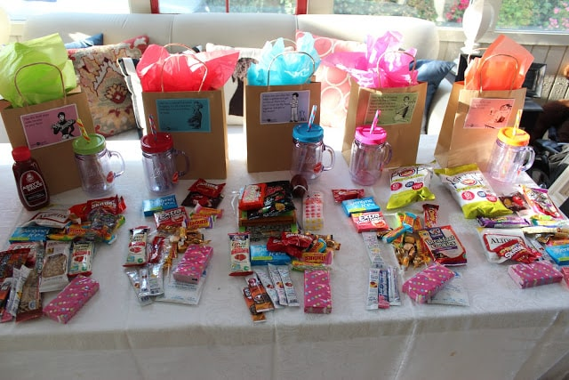 kids birthday party - goody bags