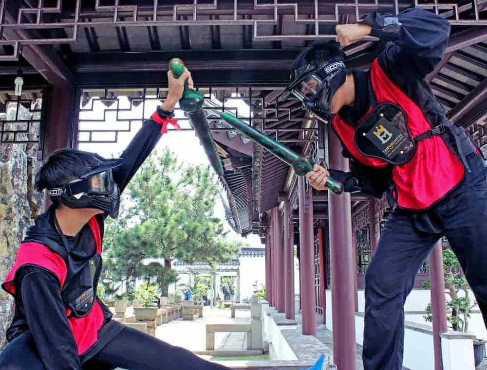 party games - ninja tag