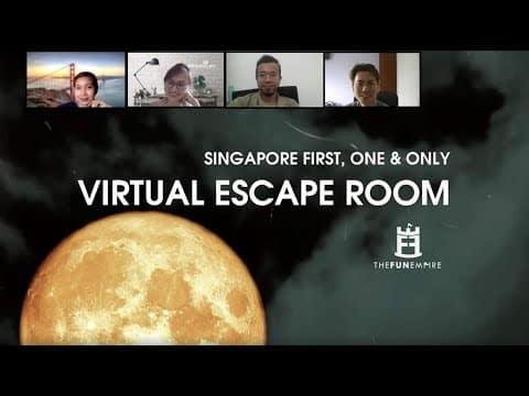 party games - virtual escape room