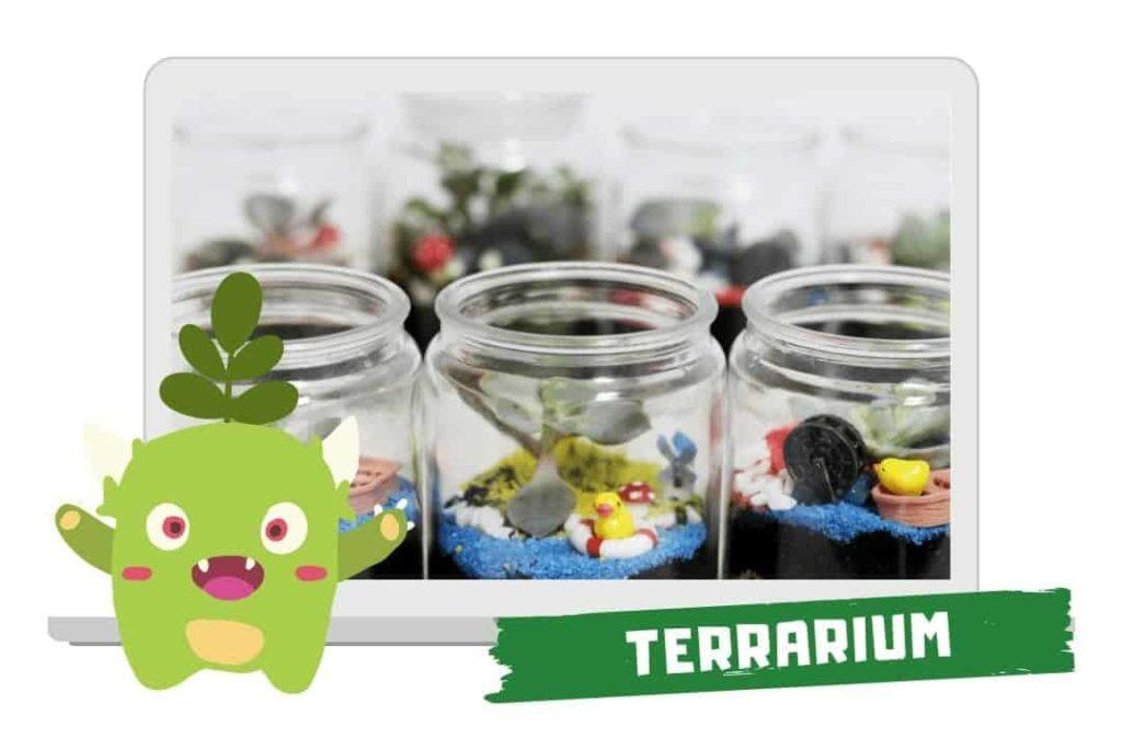 party games - virtual terrarium workshop