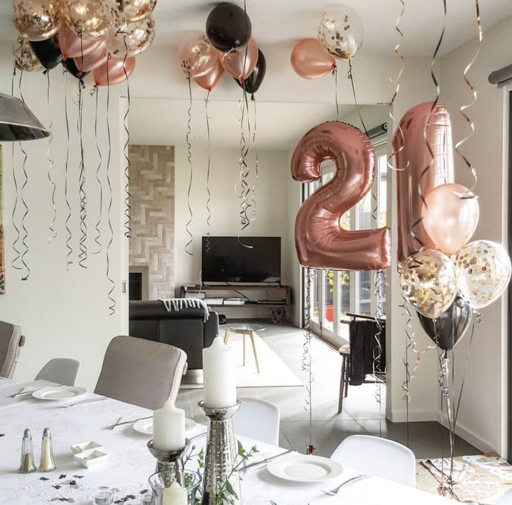 21st Birthday Party Venues